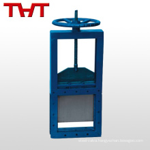electric cast iron penstock sluice gate valve for water