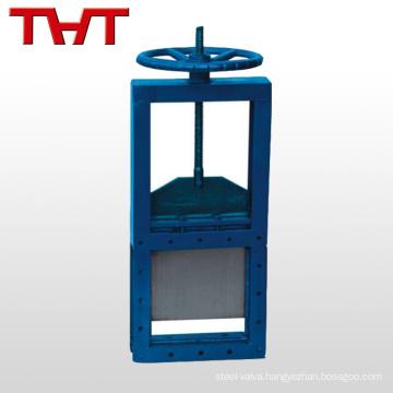 electric cast iron penstock sluice gate valve for water