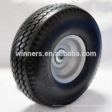 Rueda y neumático de césped plano 9x3.50-4 10x3.50-4