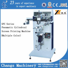 Spc-300m Pneumatic Cylindrical/Flat Screen Printer