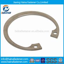 Наилучшая цена DIN 472 Углеродистая сталь / нержавеющая сталь Пружинное кольцо для отверстия / Стопорные кольца для отверстий