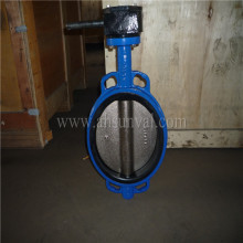 Pn16 Wafer Type Butterfly Valve