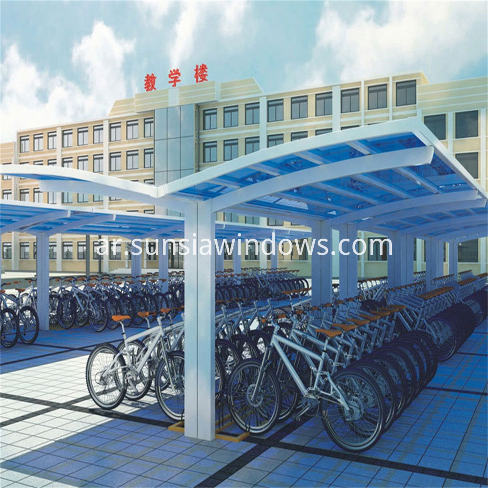 School Bicycle Shed
