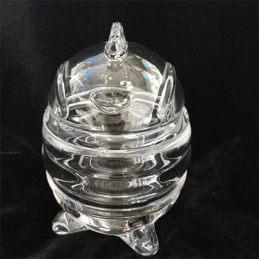 Chick Shaped Easter Egg Glass Jar1