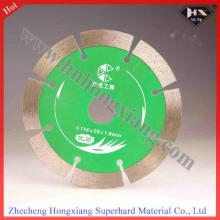 Disco de corte de diamante húmido com bom desempenho de 120 mm