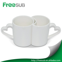Taza de cerámica sublimación pareja por mayor