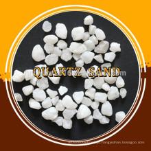 Fabricante venda areia de quartzo branco para ferro fundido e refinaria de aço