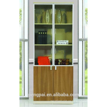 Graceful multifunctional tall MDF file cabinet for office