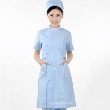 diseño enfermera uniforme blanco