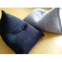Hand Knitted Lazy Wedge Bean Bag Sofa Cushion Beanbag