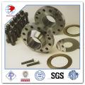 Bride de soudure en acier inoxydable forgée en acier inoxydable SUS304 Wn Flange