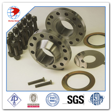 Uns S2205 Stainless Steel Dn65 Pn20 Wn RF Flange