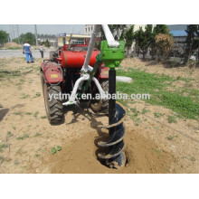 Best price farm tractor portable post hole digger,medium post hole digger