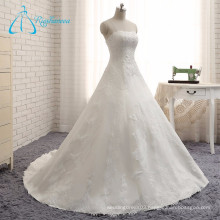 2017 Beading Pearls Sequined Two Pieces Wedding Dress
