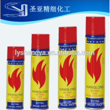 5X Hign quality lighters butane gas manufacturer