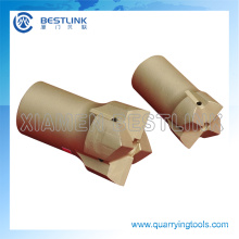 Herramientas de perforación de aire superior del martillo cruzan pedacitos para cantera