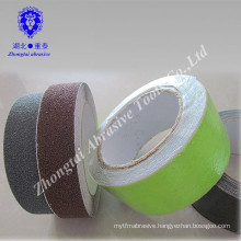 Phenolic Resin Bonded Sand Grits Anti-Slip Tape of Permanent Adhesion