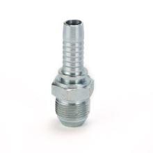 CNC machinery fitting supplier JIS metric male 60deg hose end fittings hydraulic fittings