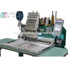 Mehrzweck-Einzelkopf 12 Nadeln Flachbett-Stickmaschine