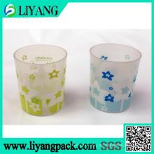 Design de flores de duas cores, filme de transferência de calor para Palstic Cup