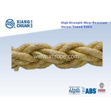 Corde tractée résistante à l'usure de haute résistance