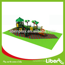 Équipement de terrain de jeux bon marché avec ensembles de balançoires et structures de jeu