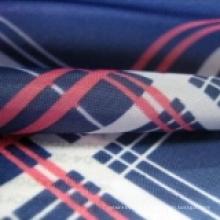 Tissu de doublure de bande de vêtement teint par Deisgn fait sur commande