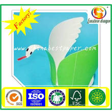 Doble cara de papel recubierto de PE: blancura 85%