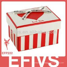 Proveedor de embalaje de la caja de la joyería del romántico 2011 romántico hermoso