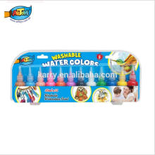 Aquarell-Farben Freie Kunst-Versorgungs-Proben-ungiftiges Watercolor-Farben-Wasserfarben-Set
