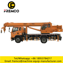 Mobile Wheel Crane Truck for Lifting Trees