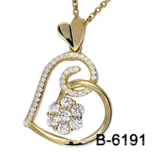 Fashion Jewelry 925 Sterling Silver Love Pendant