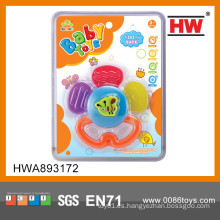 Juguete de la dentición del bebé mini atractivo atractivo dentición del bebé del silicón
