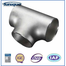 Titanium Tee in pipe fitting with ASTM B363