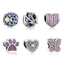 Women Bracelets 925 Sterling Silver European Charms Bracelets