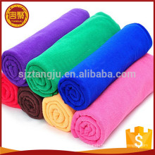 Colorful plain dyed washable knitted warp clean microfiber cooling towel