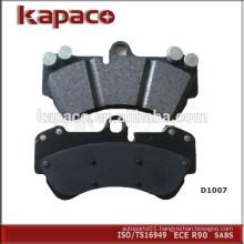 Car Brake Pads Manufacturer for Porsche VW D1007 7L6698151C