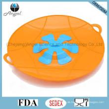 BPA Free Cooking Tool Silikon Pan Deckel über Spill Stopper Topf Deckel SL17