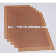 China low price fiberglass with ptfe coated fabric with FDA certificate good quality