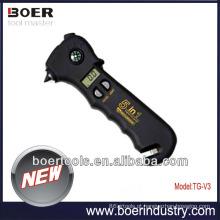 Novo modelo 5 em 1 medidor de pressão de pneu digital de alta qualidade