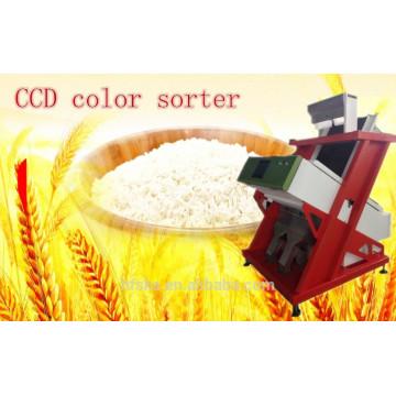 La mejor máquina del clasificador del color del arroz del CCD de la fábrica / máquina clasificadora óptica con el servicio del ingeniero de Oversea