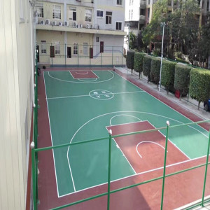 Backyard Multi-Sport-Spiel Court Boden