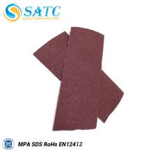 hot sale hook and loop sand paper sheet with reasonable price and high quality