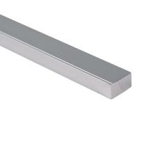 Твердая алюминиевая труба Легкая анодированная алюминиевая рама квадратная труба