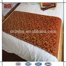Nuevo corredor de la cama del hotel de la estrella de la llegada del telar jacquar de la nueva calidad del diseño