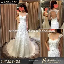 Новый продукт прибытия оптовая красивая мода свадебное платье из Китая