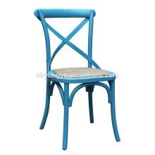 wedding plastic resin cross back chair
