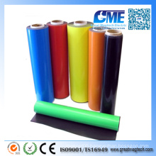 Strong Colored Photo Paper Adhesive Vinyl Rubber Magnet with Rolls/Sheet