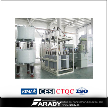 Compensación de potencia reactiva en el marco exterior / Regulador de voltaje reactivo automático