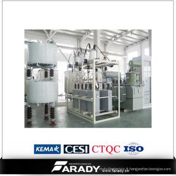 Compensation de puissance réactive / Régulateur de tension réactive automatique